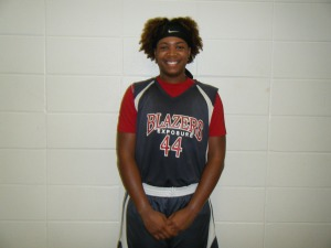 Ariyah Copeland of Blazers Exposure Red