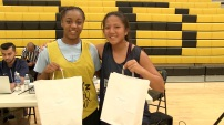 Lea Anderson and Kianna Maldia MVP's