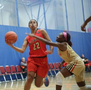 Evina Westbrook of Cal Stars Nike Elite (Credit to Joe Fenelon)