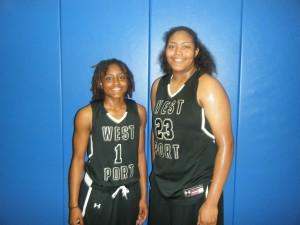 Tameria Johnson and Jalaysha Thomas of Ocala West Port High School    (Credit to Bob Corwin)