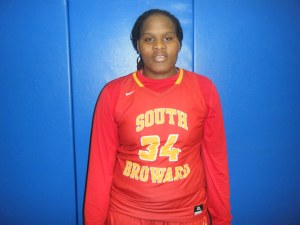 Shante Walker of South Broward High School (Credit to Bob Corwin)
