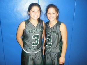 Emma and Sarah Fazio of Lakewood Ranch High School (Credit to Bob Corwin)